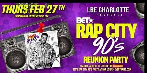 BET's Rap City 90's Party at Bar Louie