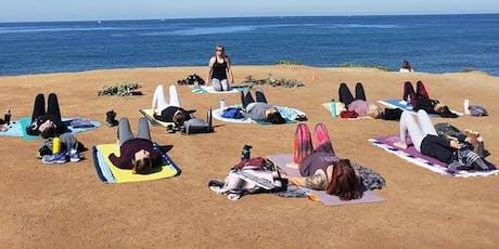 Sunday Morning Ocean View Vinyasa Flow at Sunset Cliffs tickets