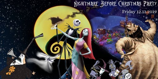 A Nightmare Before Christmas Party