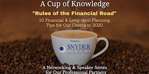 Cup of Knowledge Networking & Speaker Series  (December 2019)