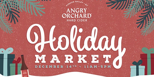 Holiday Market at Angry Orchard