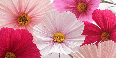 Cosmos Paper Flower Workshop tickets