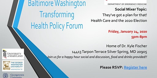 Baltimore Washington Transforming Health Policy Forum MIXER