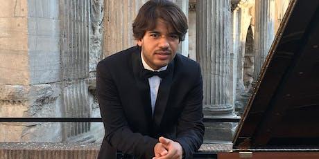 ALESSANDRO CAPONE piano biglietti