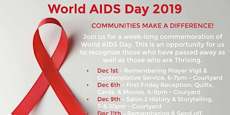 World AIDS Day 2019 - Communities Make a Difference tickets