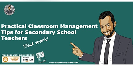 Practical Classroom Management Techniques1 day course tickets