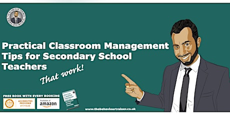 Practical Classroom Management Techniques					1 day course tickets