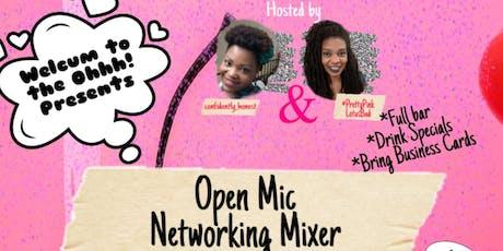 Open Mic Network Mixer tickets