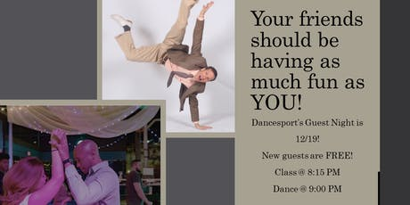 Guest Night at Dancesport tickets