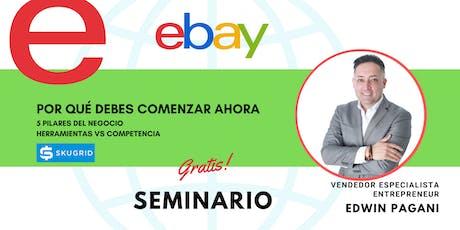 Vende con Ebay sin inventario (E-commerce) boletos