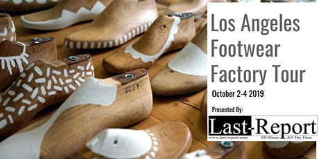 """MADE IN LA"" Footwear & Fashion Factory Tour (Shoe Cities) tickets"