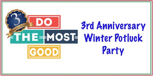 DTMG 3rd Anniversary Winter Potluck Party