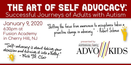 The Art of Self Advocacy tickets