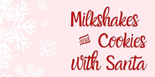 Milkshakes & Cookies with Santa
