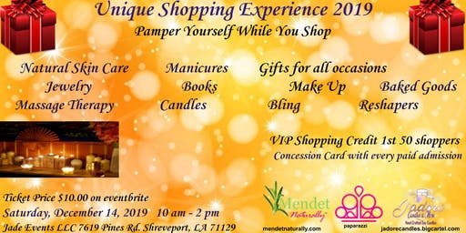 Unique Shopping Experience 2019, Pamper Yourself While You Shop