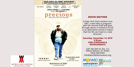 PRECIOUS ~ Movie Matinee