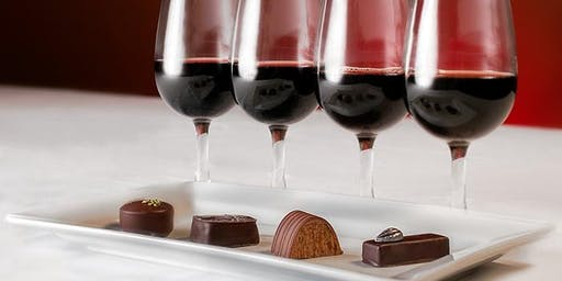 Wine and Chocolate Pairing with Cloud 9 Chocolates