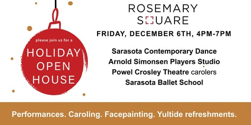 Rosemary Square Holiday Open House