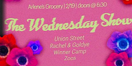 ZOOS, Winner Camp, Rachel Yohe and Goldye Horan, Annie Nirschel w/Union St. tickets