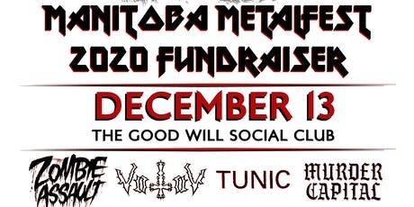 Manitoba Metalfest 2020 fundraiser tickets