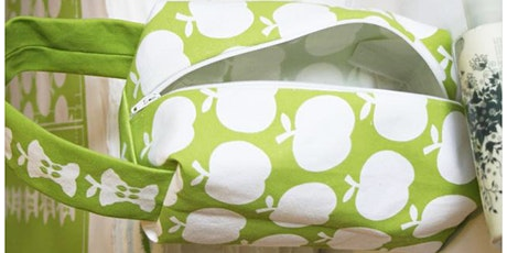 Retro Apple Makeup Bag Easy Sewing Workshop tickets