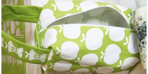 Retro Apple Makeup Bag Easy Sewing Workshop
