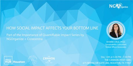 How Social Impact Affects Your Bottom Line tickets