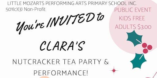 Clara's Nutcracker Tea Party (Little Mozarts)