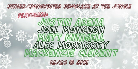 Singer/Songwriter Showcase at the Jungle FREE! tickets