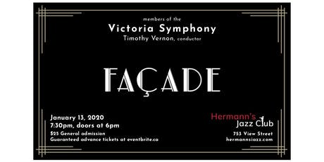 Walton - FACADE  - Members of the Victoria Symphony; Timothy Vernon, conductor tickets