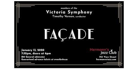Walton - FACADE  - Members of the Victoria Symphony; Timothy Vernon, conductor tickets