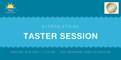 HypnoBirthing Taster Session tickets
