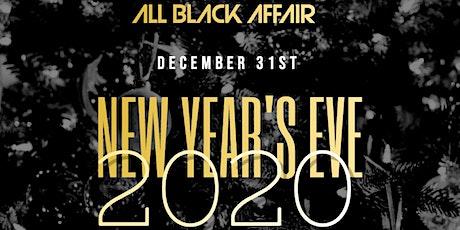 NYE ALL BLACK AFFAIR tickets