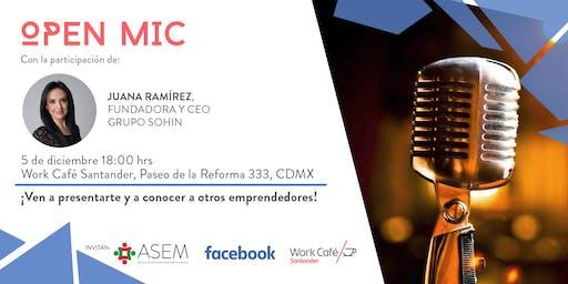 Open Mic 03 con Juana Ramírez, Sohin