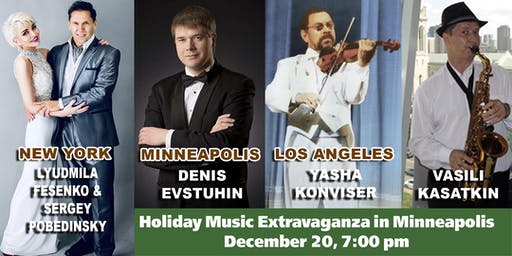 """Concert in Minneapolis: """"From the East to the West"""": Holiday Music Extravaganza"""