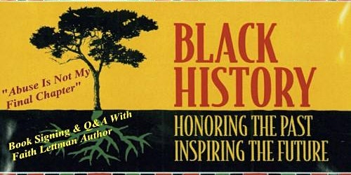 Black History Month Book Signing Event- Faith Lettman, Author
