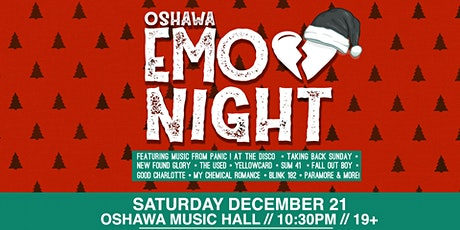 Emo Night Oshawa tickets