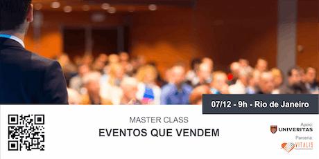 Eventos que vendem ingressos