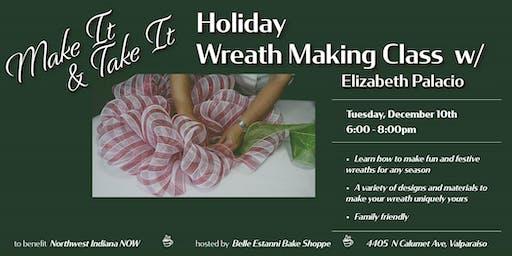 Make It & Take It Wreath Making Class