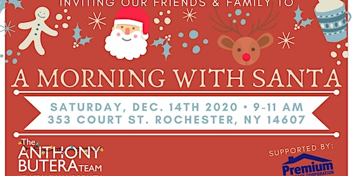Friends and Family Morning with Santa