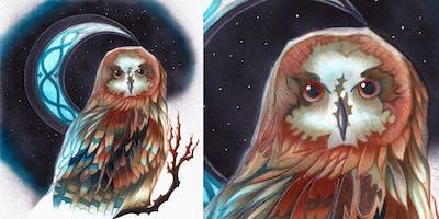 Modern Markers 2020: Midnight Owl