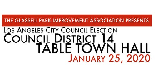GPIA Table Town Hall - Los Angeles City Council District 14