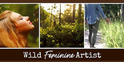 Wild Feminine Artist - at Lovers Key State Park