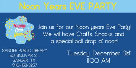 Noon Years Eve Party tickets