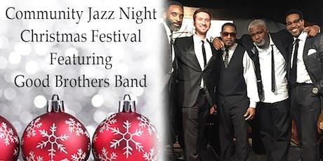 Community Jazz Night Christmas Festival tickets