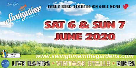 Swingtime in the Gardens 2020 tickets