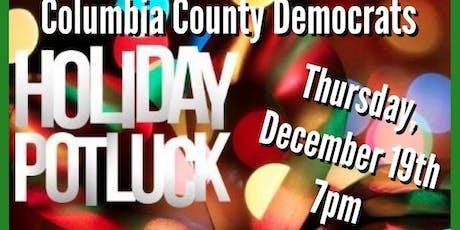 Columbia County Democrats Holiday Potluck tickets
