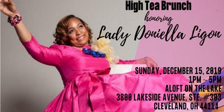 High Tea Brunch with Lady Doniella Ligon tickets