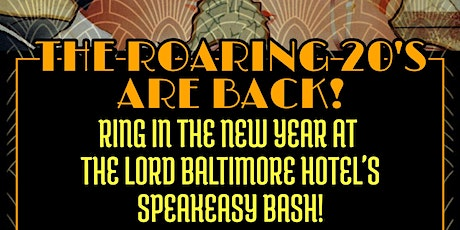 New Year's 2020 Roaring 20'S tickets