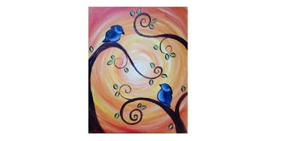 Paint Party at The Olive Garden in North Richland Hills I 02.04.20